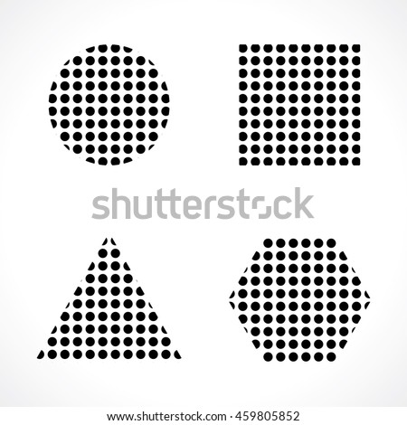 stock-vector-dotted-with-points-of-geome