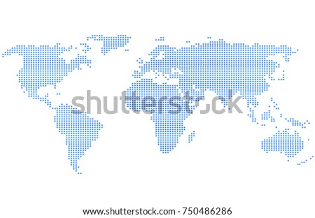 Global map stock images royalty free images vectors shutterstock dotted world map gumiabroncs Images