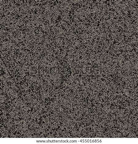 Dotwork Background. Grit, sand, beads. Vector Illustration