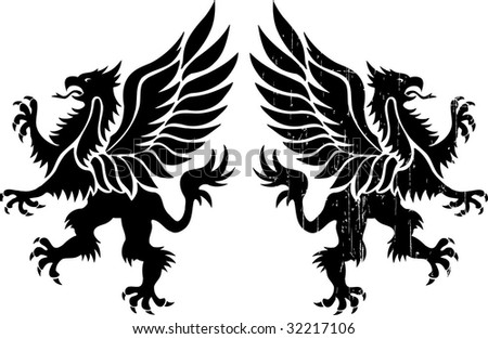 double griff - stock vector