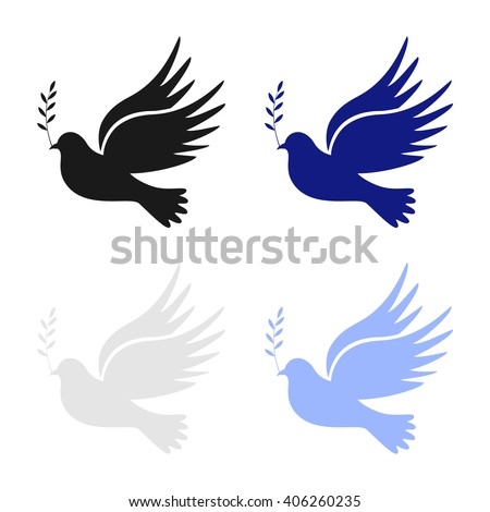 dove peace dove peace vector peace stock vector 406260235 shutterstock rh shutterstock com Dove Symbolism in the Bible Dove Symbol of Love