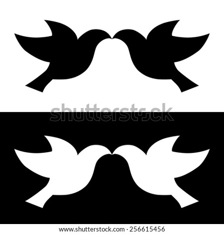 dove vector bird peace illustration - stock vector