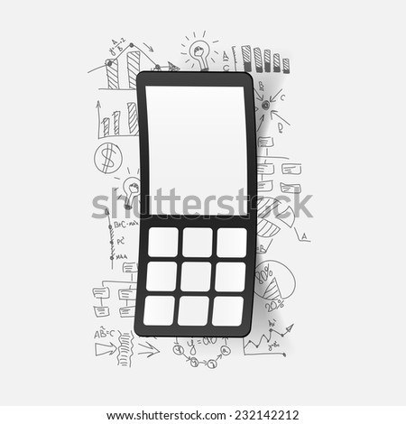 Drawing business formulas: mobile