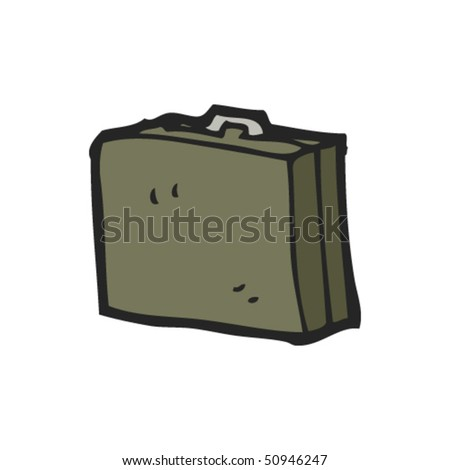 drawing of a briefcase