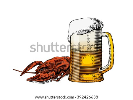 Red Crawfish Drawing | www.pixshark.com - Images Galleries With A Bite!
