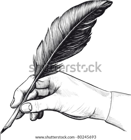 stock-vector-drawing-of-hand-with-a-feat