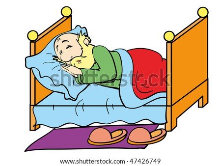 Grandfather Sleeping Stock Images Royalty Free Images