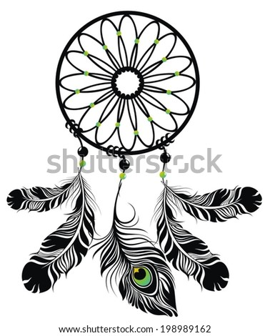 Native American Indian Chief Headdress Stock Vector