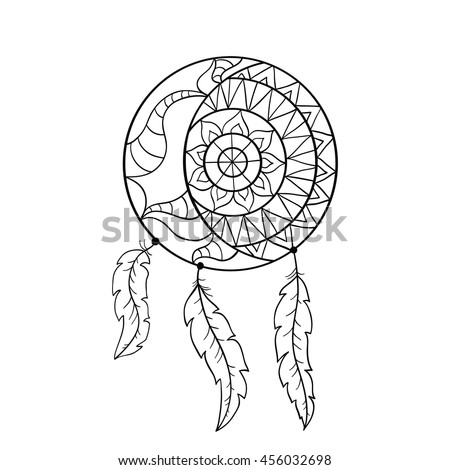 Moccasin Coloring Page