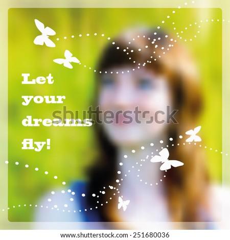 Dreams Concept, eps 10 - stock vector