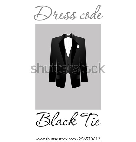 Dress code. Options. Vector. - stock vector