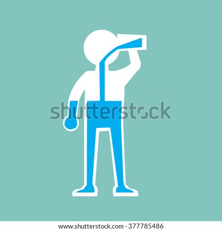 Clip Art Of People Drinking Energy Driks