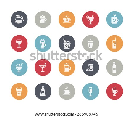 Drinks Icons // Classics Series - stock vector