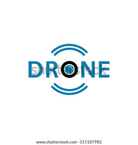 Drone Logo Aerial Footage