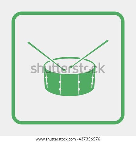 Drum Icon JPEG. Drum Icon Object. Drum Icon Picture. Drum Icon Image. Drum Icon Graphic. Drum Icon Art. Drum Icon JPG. Drum Icon Drawing. - stock vector