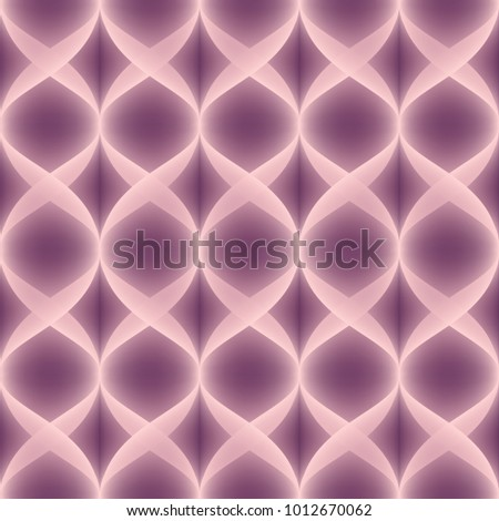 Dusty Pink Vector Seamless Pattern. Bright neon effect. Layered pattern.