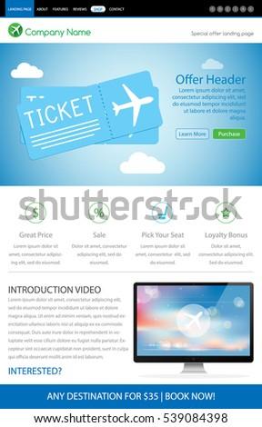 ticket sale template