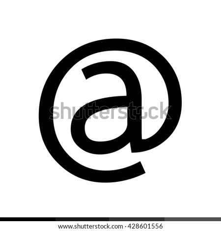 E Mail icon Illustration design - stock vector