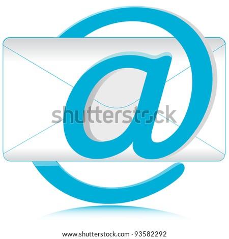 E-mail.Vector - stock vector