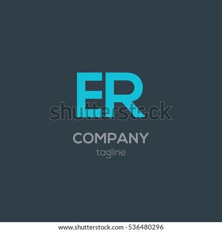 b r letter logo design vector stock vector 534168901 shutterstock