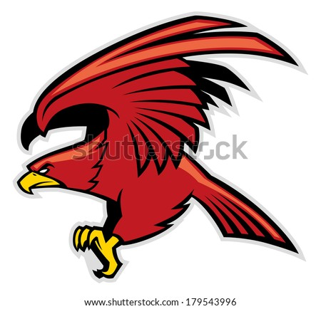 Falcon Mascot Stock Images, Royalty-Free Images & Vectors ...