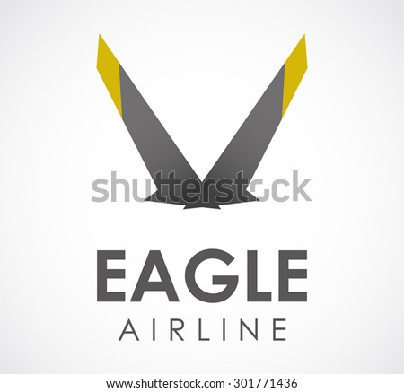 company with eagle wing logo
