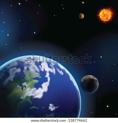 Earth - stock vector