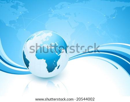 Earth concept - stock vector