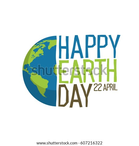 Earth day 22 april postcard design vectores en stock 611093759 earth day logo design happy earth day 22 april world map gumiabroncs Image collections
