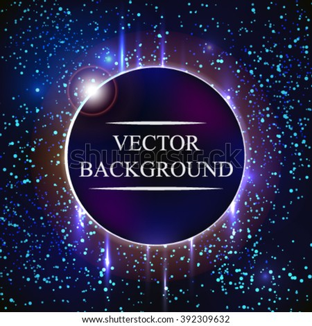 Earth planet. Design concept. Background. Vector Illustration. - stock vector