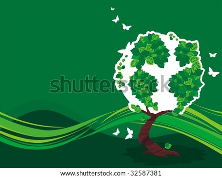 earth tree background