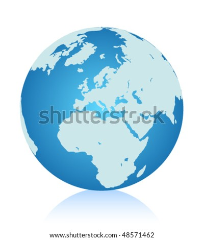 Earth, vector - stock vector