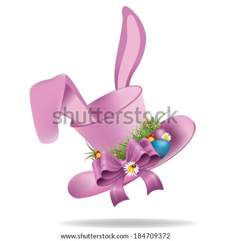 easter bonnets templates - easter bonnet stock images royalty free images vectors