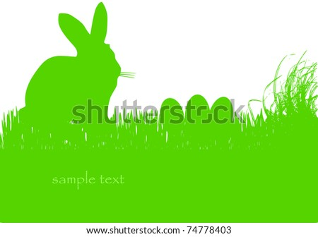 easter bunny background,free copy space