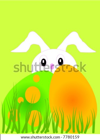 easter themed graphic webpage scrapbooking backgrounds stock vector