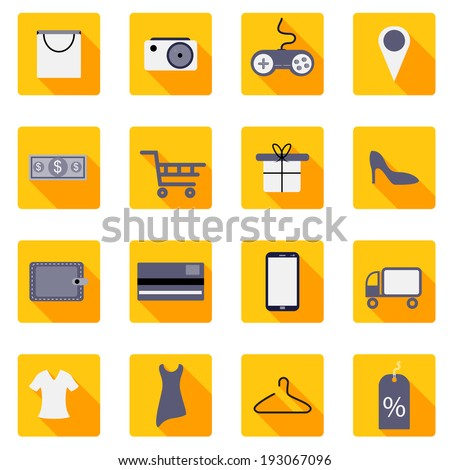 easy to edit vector illustration of shopping icon