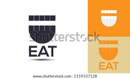 Eat and Food creative logo design 4