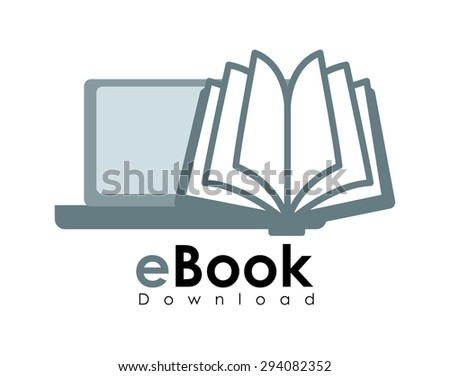 Ebook digital design, vector illustration 10 eps graphic