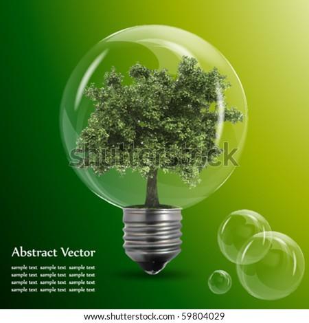 Eco energy - stock vector