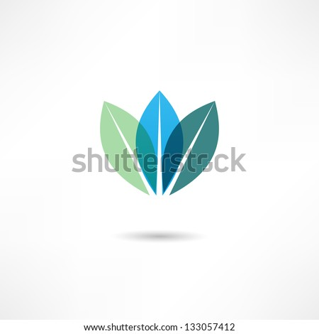 Eco icon - stock vector