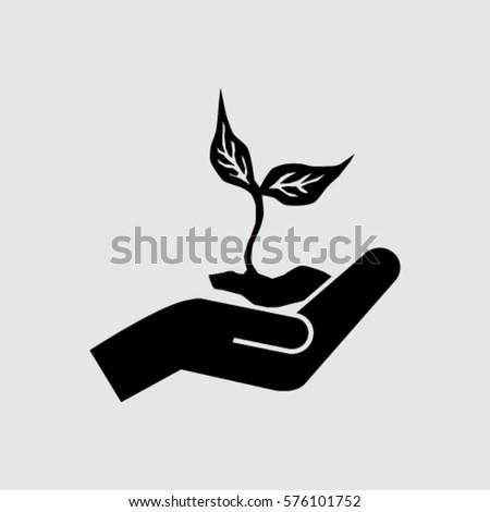 Eco Symbol Stock Vector 576101752 Shutterstock