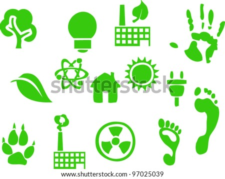 ecology - stock vector