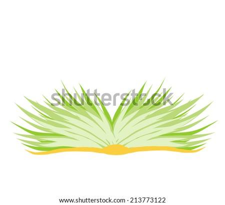 Ecology book - stock vector