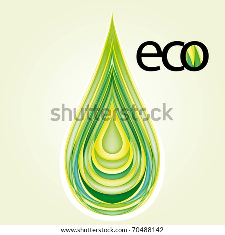 Ecology Design Element Vector Drawing Set 2