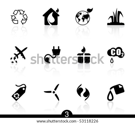 Ecology icons...series no.3 - stock vector