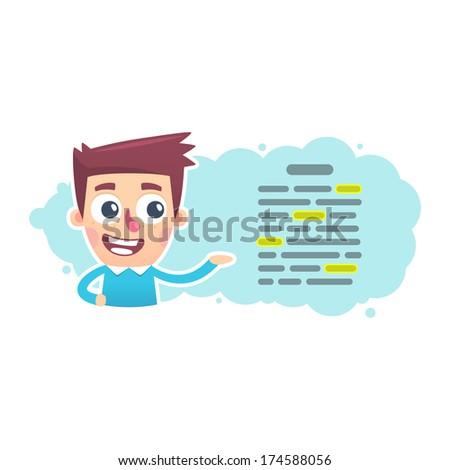 editor - stock vector
