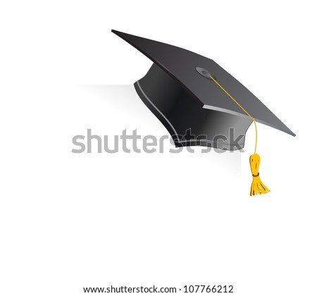 Education Cup on White Background. Vector Illustration. - stock vector