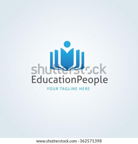 education people logo templateのベクター画像素材 362571398