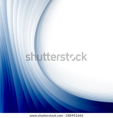 Educational blue wave certificate template background. Vector illustration - stock vector