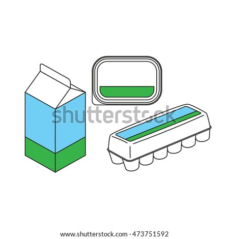 egg carton labels template - egg box stock images royalty free images vectors